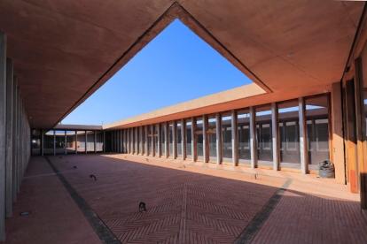 Pyrénées-Orientales (66)Musée mémorial du camp d'internement de Rivesaltes.Chantier F.Fondeville pour la région Languedoc-Roussillon.Architecte Rudy Rucciotti (Bandol)