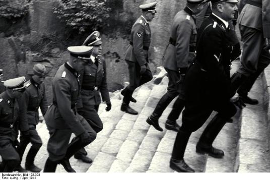 KZ-Mauthausen, Himmlervisite